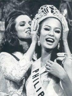 1969 Miss Universe Gloria Diaz of the Philippines.
