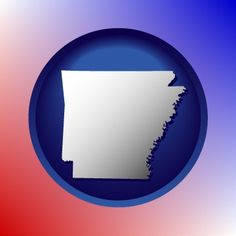 State of Arkansas map icon.