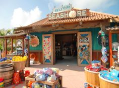 Be sure to buy Castaway Cay souvenirs on shore - they aren't available on the Disney Cruise Line ships. Cruise Travel, Cruise Vacation, Disney Vacations, Vacation Trips, Family Vacations, Family Travel, Disney Travel, Vacation Destinations, Honeymoon Cruises