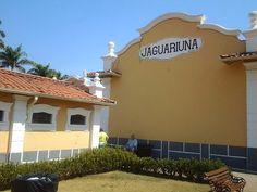 Bonita estação de Jaguariúna.