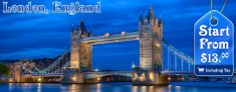 London- oldest of the world's great cities—its history spanning nearly two millennia—and one of the most cosmopolitan.It has held on to its reputation as one of Europe's hippest capitals with new landmarks and trendy hotels, restaurants and clubs opening up all the time.Get the best holiday deals for London, England - http://search.searchtripdeals.com/Place/London.htm