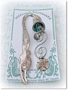 I Believe In Mermaids Bookmark  Gift for Readers by A2SeaCreations