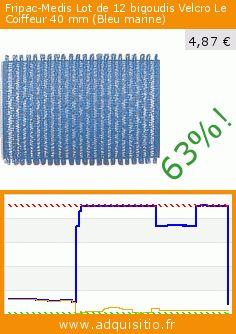 Fripac-Medis Lot de 12 bigoudis Velcro Le Coiffeur 40 mm (Bleu marine) (Beauté et hygiène). Réduction de 63%! Prix actuel 4,87 €, l'ancien prix était de 13,04 €. https://www.adquisitio.fr/fripac-medis/lot-12-bigoudis-velcro