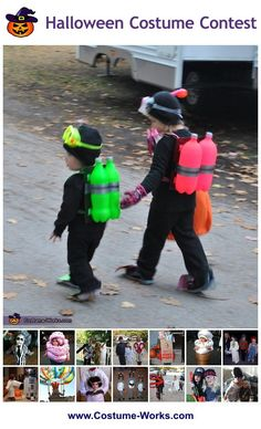Homemade Costumes for Kids - a huge gallery of DIY Halloween costumes!