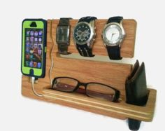 Iphone Dock Iphone Docking Valet Iphone 4 4s 5 by ImproveResults