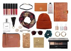 """""""gift ideas!!!!"""" by whitegirlsets ❤ liked on Polyvore featuring Anastasia Beverly Hills, Acne Studios, NARS Cosmetics, Patricia Nash, Essie, CO, L'Occitane, Monki, Tory Burch and Dogeared"""