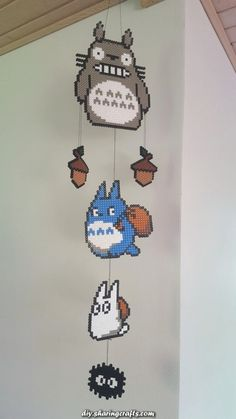 -You can find Totoro and more on our website. Hama Beads Design, Diy Perler Beads, Perler Bead Art, Pearler Bead Patterns, Perler Patterns, Quilt Patterns, Totoro Crochet, Modele Pixel Art, Art Perle