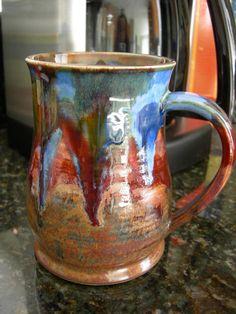 Coffee Mug  Tea Cup  Hot Chocolate Mug  Handmade Mug  by anuart