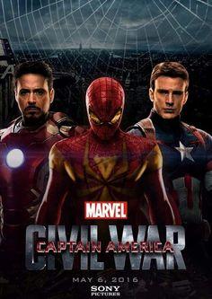 Marvel civil war movie. Fan made poster