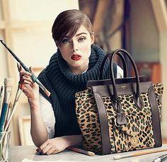 "Céline Leopard Luggage Tote: Return of Phoebe Philo = Return of ""It"" Bags • Snob Essentials"