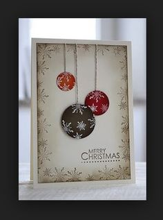 Try a frame of pine branches instead of snowflakes