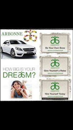 Ever thought about doing something different to what you are doing now. Arbonne could be something for you! Arbonne could take you anywhere you dream of going :) Chelbyfabre.arbonne.com