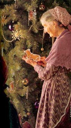 Tasha Tudor used to hand cut her gingerbread cookies in her favorite shapes, like Corgis!! (1) From: The World Of Tasha Tudor, please visit