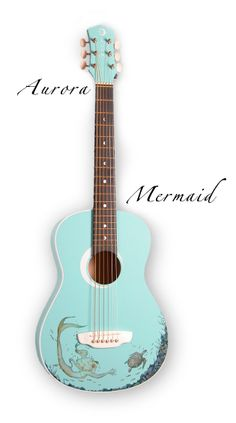 Gorgeous children's guitar...wish it was available in adult size as well. Still might have to pick this up sometime!