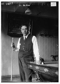 Alfredo de Oro the great pool and billiards champion born in Manzanillo, Cuba (April 28, 1863 – June 2, 1948, ). Was a  professional carom billiards and pool player who several times held the world title in both three-cushion billiards and straight pool simultaneously. He was posthumously inducted into the Billiard Congress of America's Hall of Fame in 1967, one of the very few non-Americans to receive the honor. He was ranked number 4 on the Billiards Digest 50 Greatest Players of the…
