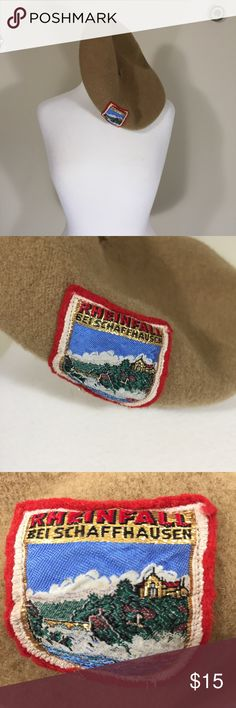 Rheinfall Bei Schaffhausen Tan beret Description: Rheinfall Bei Schaffhausen beret; wool? Fun and festive. See pic for measurements Condition: Good Item #1719 Bundle Discount Available! Reasonable offers welcome! No trades please.. Thanks for stopping by!! #Poshmark #Poshmarkapp #Poshmarkcloset Accessories Hats
