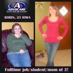 The best stories in AdvoCare start with the 24 Day Challenge! More at http://www.fitntrim.biz