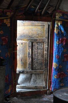 Yurt Door - Mongolia