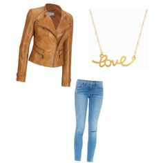 Hey you by sraley on Polyvore featuring polyvore fashion style Andrew Marc Frame Denim Minnie Grace