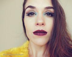 Delineado duplo com batom Espelho Mágico do Pausa para Feminices #maquiagem #makeup #eyeliner #doubleeyeliner #delineadoduplo #ma