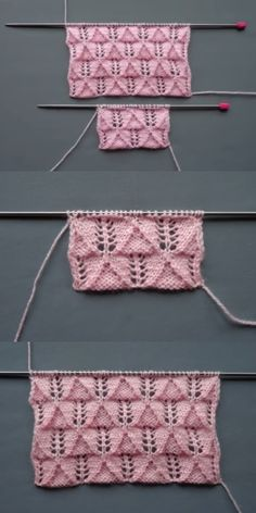 Best Beautiful Easy Knitting Patterns – Knittting Crochet - knitting for babies Knitting Blogs, Sweater Knitting Patterns, Knitting Stitches, Knit Patterns, Baby Knitting, Knitting Ideas, Crochet Table Runner Pattern, Intarsia Knitting, Cross Stitch Pattern Maker