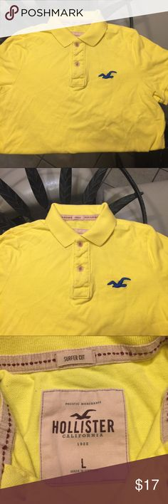 Hollister golf shirt (polo shirt) Size:Large  Company: Hollister  Worn very few times. Great condition. Hollister Shirts Polos