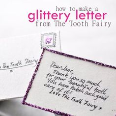 A letter from the tooth fairy spoonful kids corner, parenting hacks, kids a Kids And Parenting, Parenting Hacks, Activities For Kids, Crafts For Kids, Fairy Crafts, Kids Corner, Tooth Fairy, Kids Playing, Cute Kids