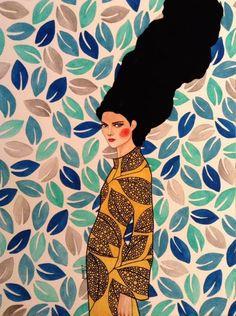 Impressive women's illustrations by Hülya Özdemir - Art Painting Posca Art, Art Pop, Illustrations And Posters, Portrait Art, Portraits, Female Art, Art Inspo, Painting & Drawing, Illustrators