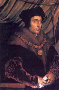 St. Thomas More, Roman Catholic English Martyr, (Patron of Lawyers), He was sentenced to be hanged, drawn, and quartered (the usual punishment for traitors who were not the nobility), but the King commuted this to execution by decapitation