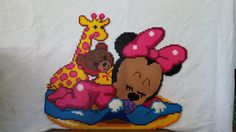 Disney baby Minnie perler beads by MeltyCreations