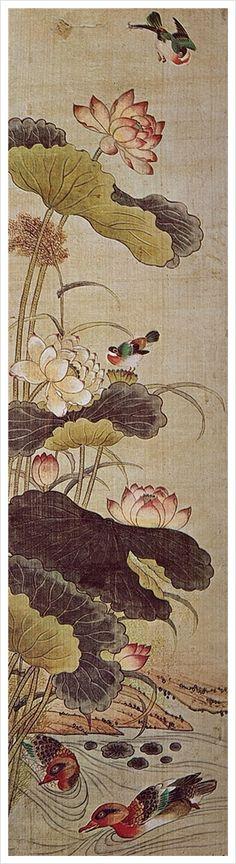 민화 Korean folk paintings : [조선 민화] 꽃