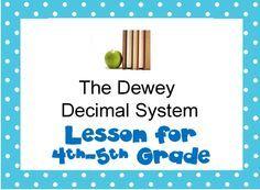 PPT for teaching 4th-5th Dewey Decimal System