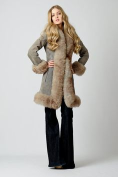 shearling coat and amazing boots wewantsale coat boots | street