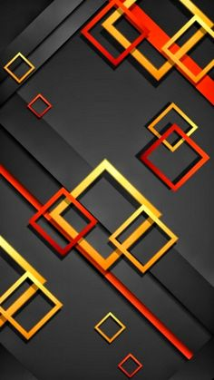 wallpaper full hd for mobile with red blue and black box abstrato rh pinterest com