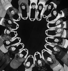 StCyr Photography  Awesome Heart Group Photo