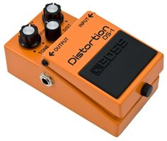 There are many distortions on the market and I have my fair share, but the Boss DS-1 is essential for my board, your board, any bloody board! Cheap and rugged it's a total classic for $49 new.