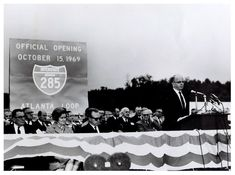 Opening of 285 in 1969 Atlanta Condo, Atlanta Midtown, Atlanta Airport, Atlanta Skyline, Georgia Usa, Georgia On My Mind, Atlanta Georgia, Local History