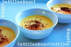 [Receta Thermomix] Natillas Flan, Thermomix Desserts, Mousse, Good Food, Pudding, Recipes, Tailgate Desserts, Home, Sweet And Saltines