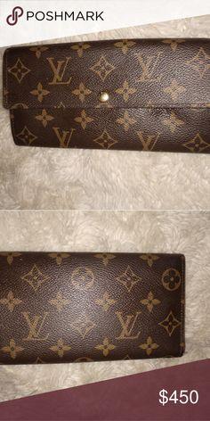 cacc9be2c4aa Spotted while shopping on Poshmark  Louis Vuitton Wallet!  poshmark   fashion  shopping  style  Louis Vuitton  Handbags  Designerhandbags