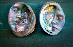 Moon Abalone Shell Alar Smudge Mother of Pearl By by ShapingSpirit