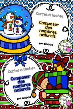 Voici 2 ensembles de cartes à tâches portant sur les nombres naturels inférieurs à 1000 afin de permettre aux élèves d'approfondir leurs connaissances sur cette notion.
