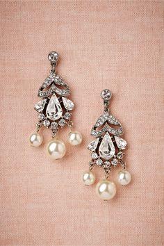 Luna Moth Earrings in Bride Bridal Jewelry at BHLDN