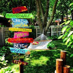23 Creative DIY Garden Sign Ideas and Projects – Wonderfulbackyard