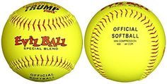 Ready for softball bags pictures 1 Dozen Special Blend Evil Ball 12″ Softballs – 44cor/.400 Compression (MP-EVIL-SB400Y) - http://homerun.co.business/product/1-dozen-special-blend-evil-ball-12-softballs-44cor-400-compression-mp-evil-sb400y/