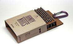Contoh Desain Kemasan Unik Menarik - Contoh desain kemasan unik menarik - packaging design - Nail packaging