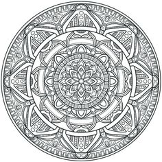 Krita Circles Mandala 3 by WelshPixie.deviantart.com on @DeviantArt