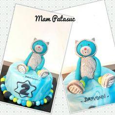 Un joli gâteau aux couleurs des Pachats #moulinroty #pachats #miam #gateau #pateasucre #anniversaire #birthday #kid #sweet #sweettables