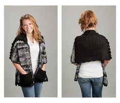 Reader's Wrap Crochet Pattern