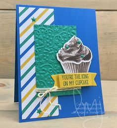 Have a sweet tooth like me? Try creating a calorie free chocolate cupcake and because you are generous you can share it with everyone too! #sweetcupcake #stampinup #literallymyjoy #papercrafting #cardmaking #stampinupdemonstrator #cupcake #sweettooth #sweets #chocolate #party #celebrate #icing #emeraldenvy #2017OccasionsCatalog #20162017AnnualCatalog #linkinprofile