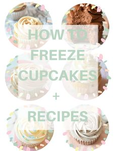 How to Freeze Cupcakes to keep them fresh longer! I use this tips all the time and they are <3 | carmelapop.com